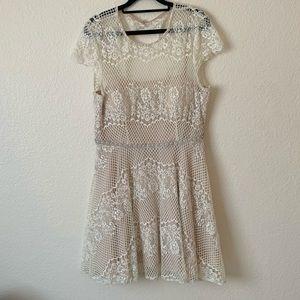 Beautiful Vintage Inspired Lace Dress